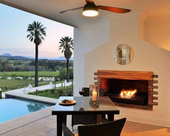 Val du Charron Guest House & Wine Estate - Wellington - Zwembad