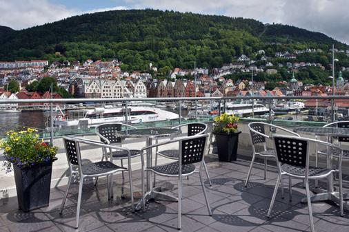 Clarion Hotel Admiral - Bergen - Parveke