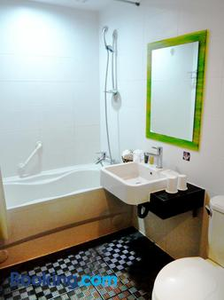 Young Soarlan Boutique Hotel - Tainan - Phòng tắm