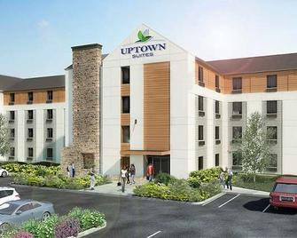 Uptown Suites Extended Stay Charlotte/ Concord - Конкорд - Здание