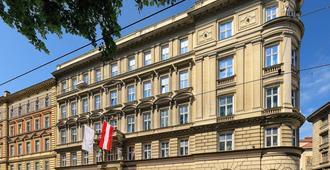 Bellevue Hotel - Viena - Edificio