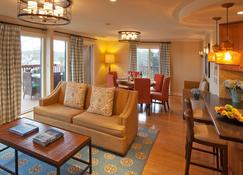 The Mansion at Ocean Edge - Brewster - Living room