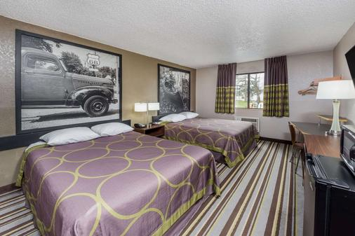 Super 8 by Wyndham Bloomington - Bloomington - Phòng ngủ