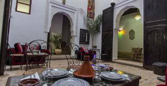 Hostel Dar Jannat - Fez - Patio