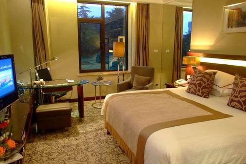 Qingdao Seaview Garden Hotel - Thanh Đảo - Phòng ngủ
