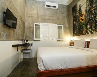 Watu Agung Guest House - Borobudur - Slaapkamer