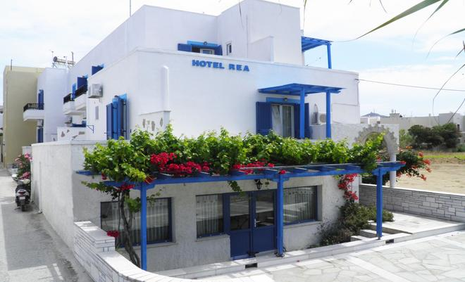 Hotel Rea - Naxos - Building