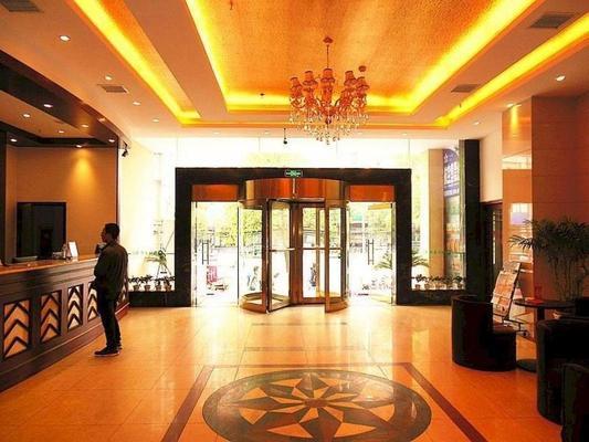 Greentree Inn Jiangxi Nanchang Railway Station Zhanqian Road Express Hotel - Nanchang - Lobby