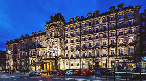 Royal Station Hotel - Newcastle upon Tyne - Rakennus