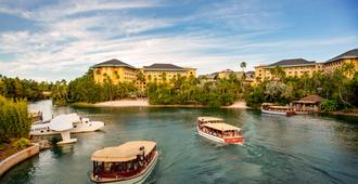 Universal's Loews Royal Pacific Resort - Orlando - Rakennus