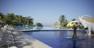 Ghl Relax Hotel Costa Azul - Santa Marta - Pool