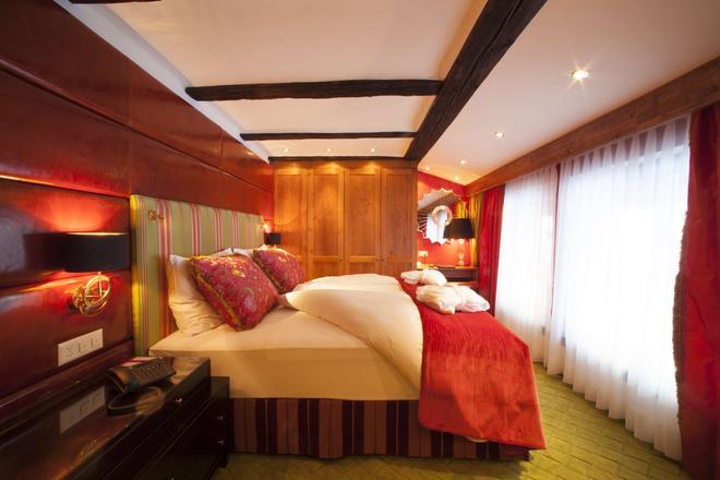 Resort Hotel Alex - Zermatt - Makuuhuone