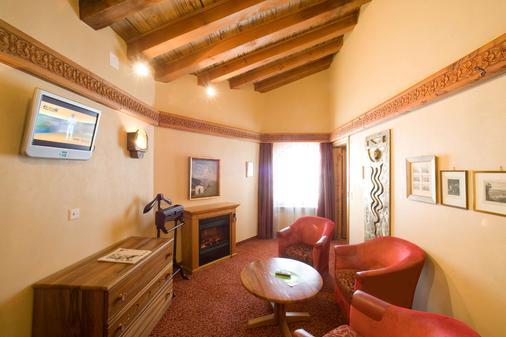 Resort Hotel Alex - Zermatt - Phòng khách