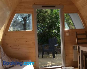 hébergement insolite homes d Opale - Saint-Martin-Boulogne - Living room