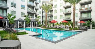 Luxe Apartments Near Sdsu By Wanderjaunt - סן דייגו - בריכה