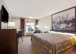 Super 8 by Wyndham Oklahoma/Frontier City - Oklahoma City - Phòng ngủ