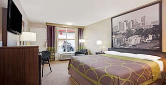 Super 8 by Wyndham Oklahoma/Frontier City - Oklahoma City - Bedroom