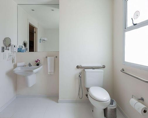 里約奧林匹克公園品質酒店 - 里約熱內盧 - 里約熱內盧 - 浴室