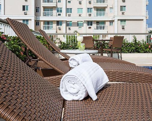 里約奧林匹克公園品質酒店 - 里約熱內盧 - 里約熱內盧 - 陽台
