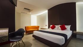Hotel Via La Villa - Mexico City - Bedroom