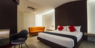 Hotel Via La Villa - מקסיקו סיטי - חדר שינה