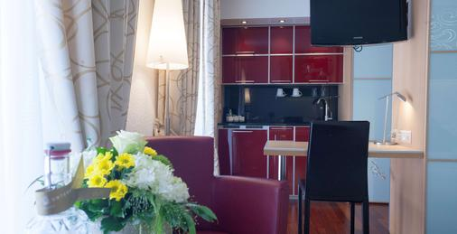 克朗尤特斯特拉斯酒店 - 蘇黎世 - 蘇黎世 - 廚房