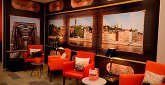 Hotel Victoria Lyon Perrache Confluence - ליון - טרקלין