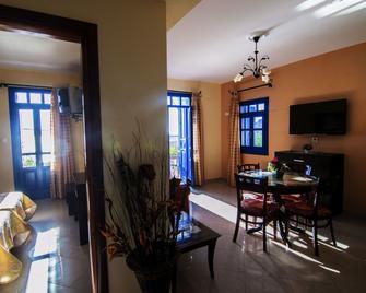 Alkioni Hotel - Karpathos - Dining room