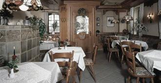 Hotel Löwen - וירצבורג - מסעדה