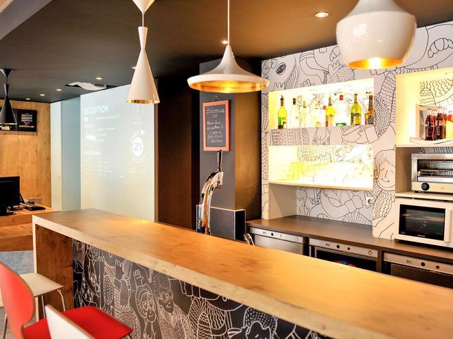里昂中心宜必思酒店 - 里昂 - 里昂 - 酒吧
