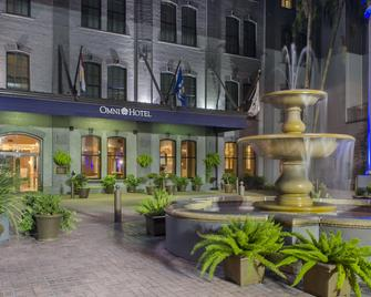 Omni Riverfront Hotel - New Orleans - Building