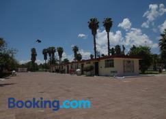 Hotel Las Palmas Midway Inn - Matehuala - Bangunan