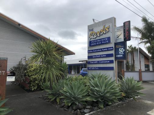 At The Rocks Motor Lodge - Napier - Toà nhà