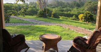 La Posada Bed & Breakfast - Puerto Carrillo - Patio