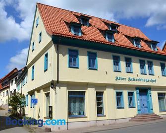 Alter Ackerbürgerhof - Bad Frankenhausen/Kyffhäuser - Gebouw