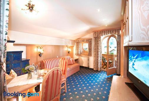 Hotel Garni Glockenstuhl - Mayrhofen - Living room