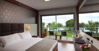 Ortunc Hotel - Boutique Class - Ayvalik - Bedroom