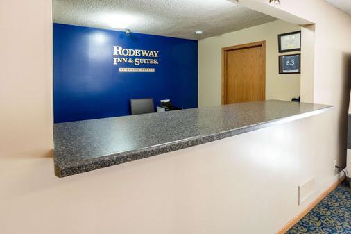 Rodeway Inn & Suites - Austin - Rezeption