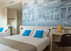 บีแอนด์บี โรงแรมแบร์กาโม - เบอร์กาโม - ห้องนอน