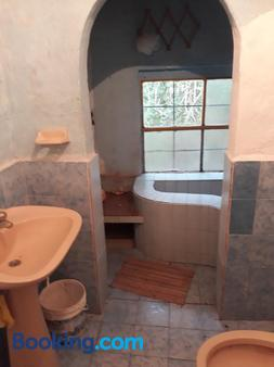 Posada Naturista Arco Iris - San Marcos Sierra - Bathroom