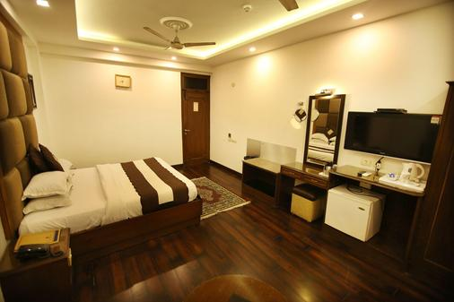 Hotel Parkway Deluxe - New Delhi - Phòng ngủ