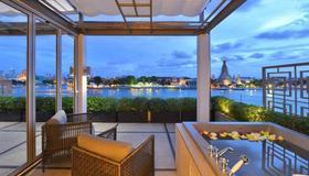 Riva Arun Bangkok - Banguecoque - Varanda