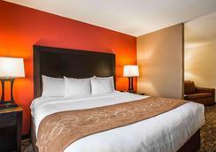 Comfort Suites At WestGate Mall - Spartanburg - Schlafzimmer