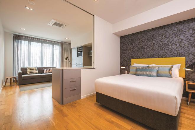 Adina Apartment Hotel Auckland Britomart - Auckland - Makuuhuone