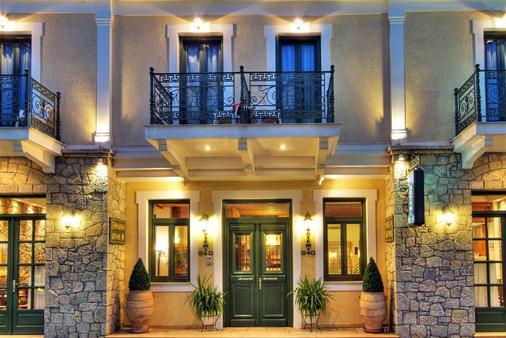 Artemis Hotel - Delphi - Building