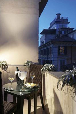 城市豪華賓館 - 羅馬 - 陽台