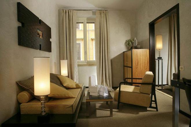 城市豪華賓館 - 羅馬 - 客廳