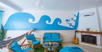 H2O Surfguide Hostel - Пениши - Гостиная