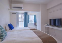 Kariyushi Condominium Resort Living inn Asahibashi Ekimae - Naha - Schlafzimmer