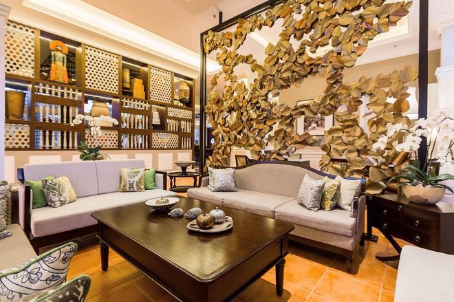 沙努宅邸奧雷里亞酒店 - 登巴薩 - 登巴薩 - 客廳